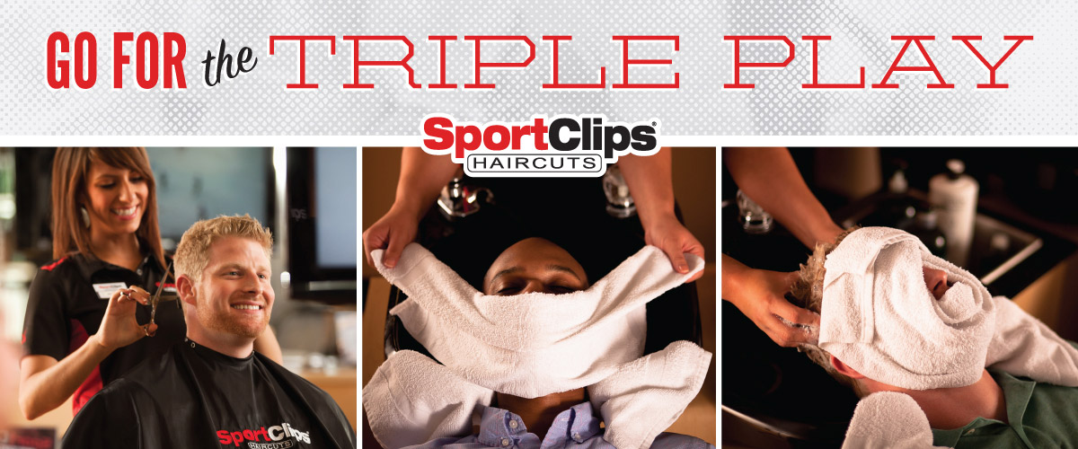 The Sport Clips Haircuts of Bolingbrook I Triple Play